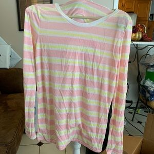 NWOT Victoria Secret LS Tee Shirt M